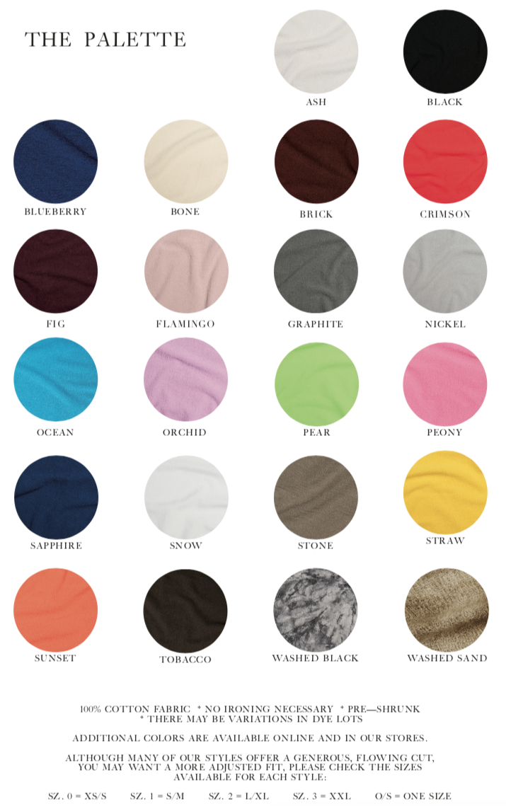 Oh My Gauze 2015 Color Swatch